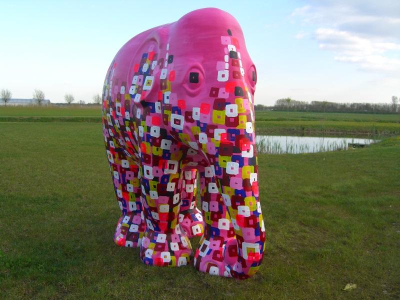 kunstenaar L-Tuziasm art kunst olifant elephant parade exhibition