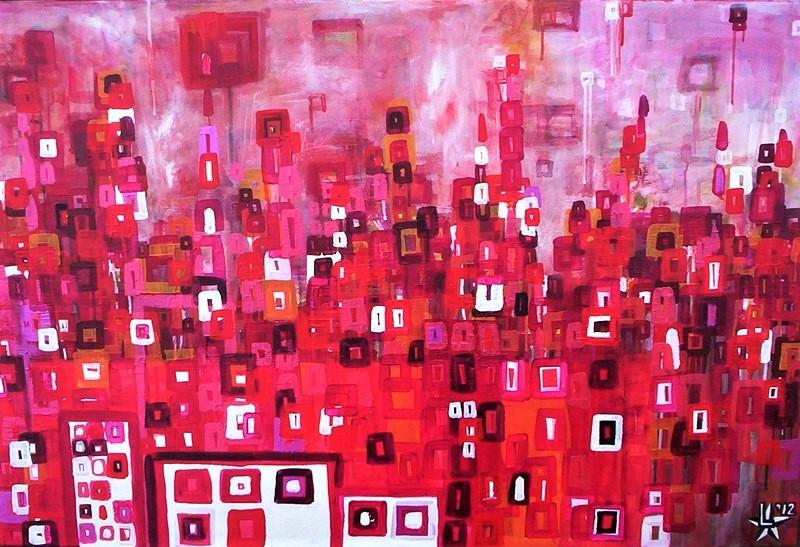 artist art utrecht kunst ltuziasm l-tuziasm schilderij urbanlandscape city trippin