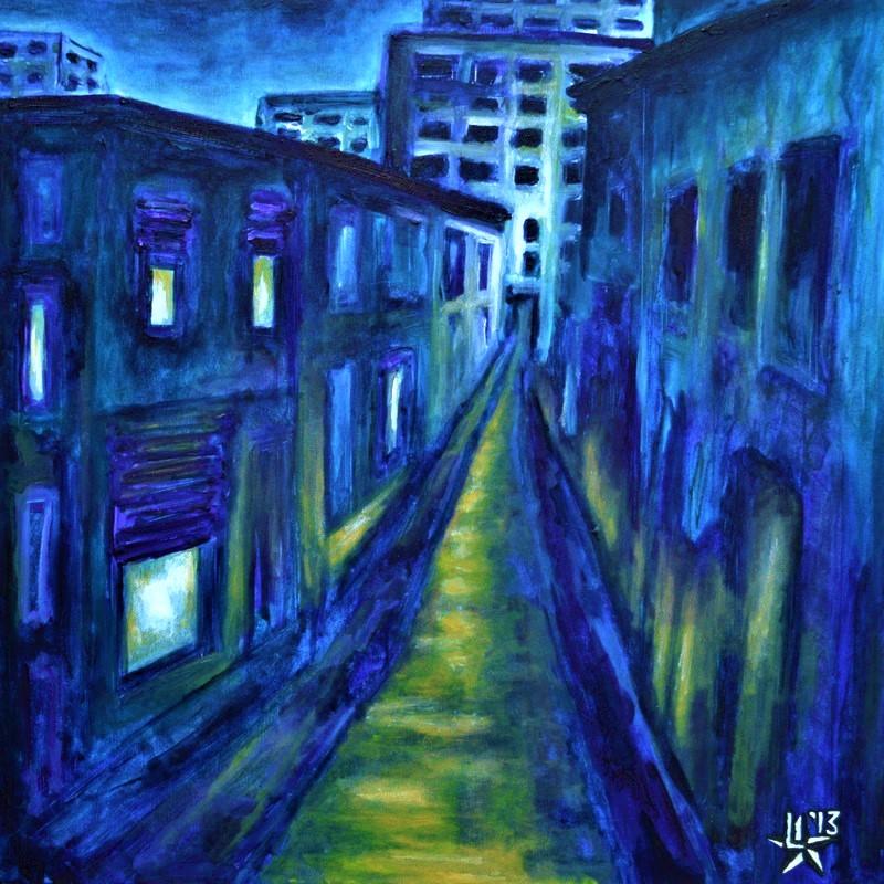 kunstenaar utrecht kunst ltuziasm l-tuziasm schilderij art artist painting urban landscape city trippin nightwalk