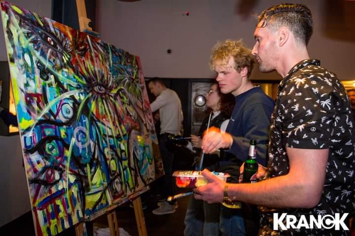 live-disco-nightlife-painting-kranck-utrecht-l-tuziasm-house-music-dance-nacht-cultuur-art-kunst