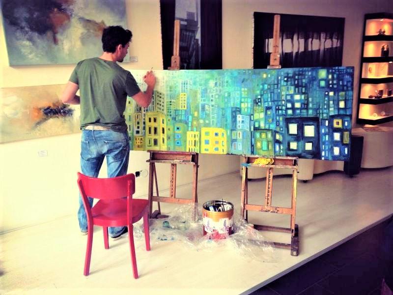 live-painting-schilderen-pop-up-galerie-l-tuziasm-utrecht-art