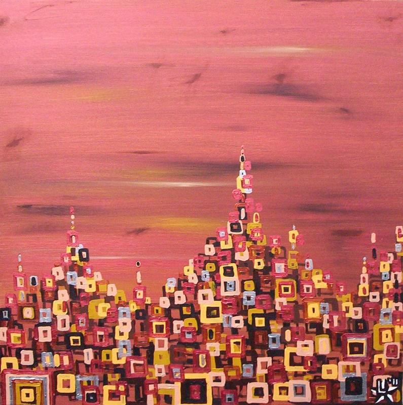 schilderij-painting-kunstenaar-artist-l-tuziasm-urban-urbanlandscape-contemorary-art-city-under-african