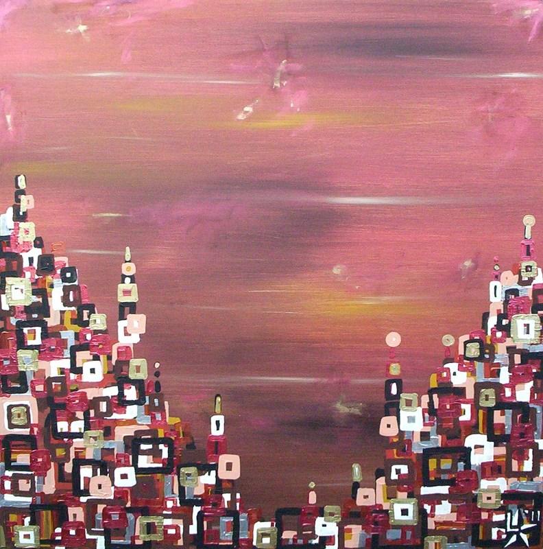 schilderij-painting-kunstenaar-artist-l-tuziasm-urban-urbanlandscape-contemorary-art-city-under-african- skies