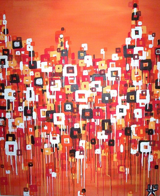 schilderij-painting-kunstenaar-artist-l-tuziasm-urban-urbanlandscape-contemorary-art-melting-city