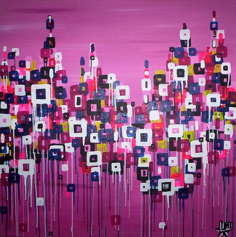 schilderij-painting-kunstenaar-artist-l-tuziasm-urban-urbanlandscape-contemorary-art-melting-sweet-city
